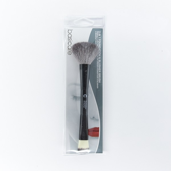 Basicare 1128 Foundation & Blusher Brush 2 In 1 - in Sri Lanka