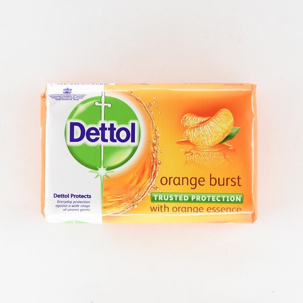 Dettol Soap Orange Burst 110G - in Sri Lanka