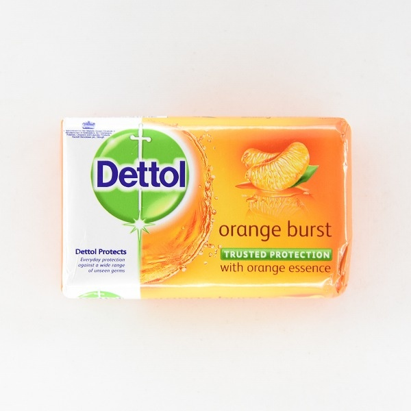 Dettol Soap Orange Burst 70G - in Sri Lanka