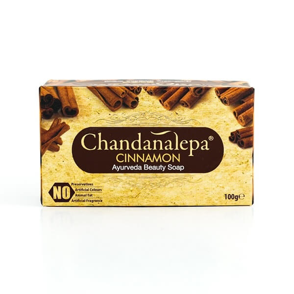 Chandanalepa Soap Cinnamon 100g - in Sri Lanka