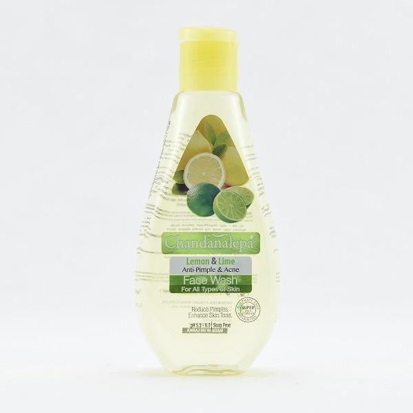 Chandanalepa Face Wash Lemon Lime 100ml - in Sri Lanka
