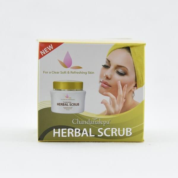 Chandanalepa Face Scrub Herbal 40G - in Sri Lanka