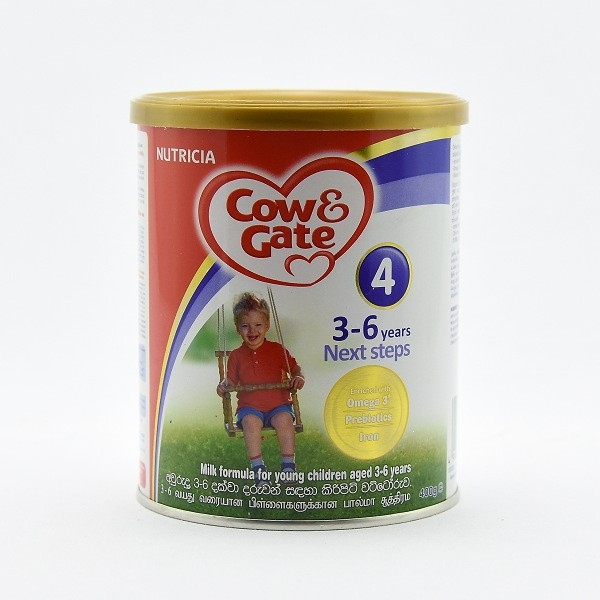Cow & Gate Milk Powder Next Steps 400g - in Sri Lanka