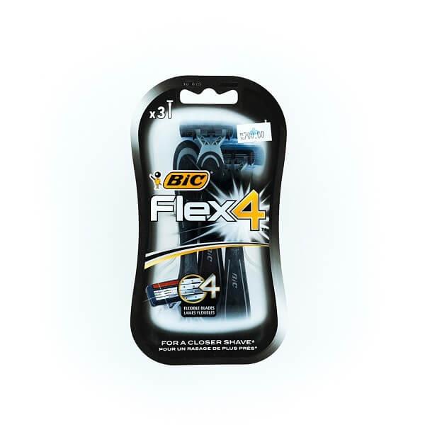 Bic Flex 4 Razor 3'S - in Sri Lanka