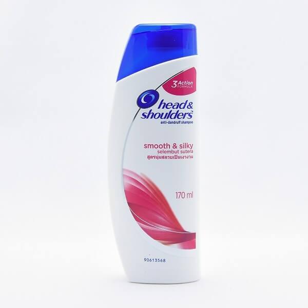 Head & Shoulder Shampoo Smooth & Silky 170ml - in Sri Lanka