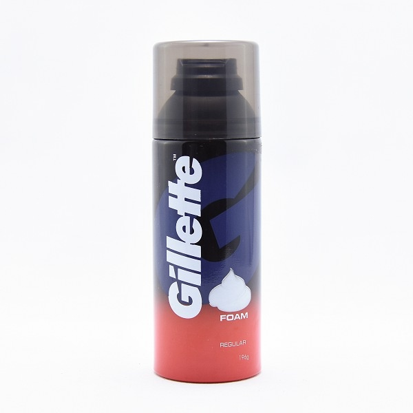 Gillette Shaving Foam Regular 196G - in Sri Lanka
