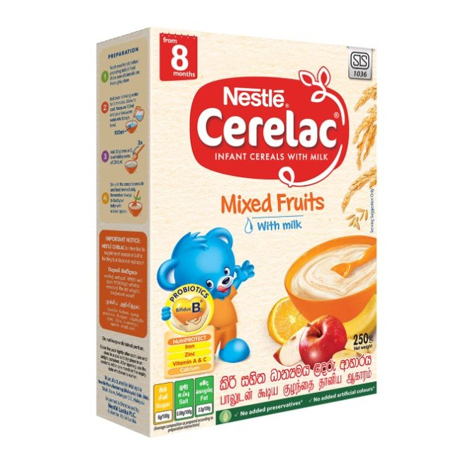 Nestle Cerelac Cereal Mixed Fruit - in Sri Lanka