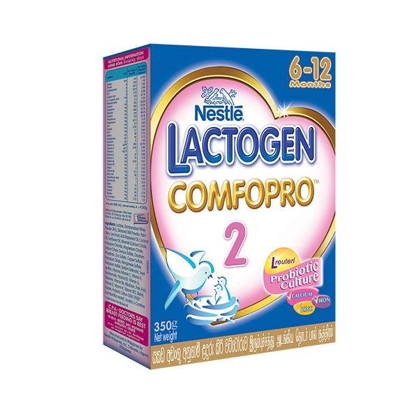 Lactogen Comfopro 2 Milk Powder 350g - in Sri Lanka
