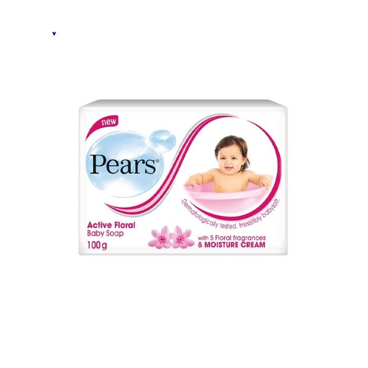 Pears Baby Soap Active Floral 100G - in Sri Lanka