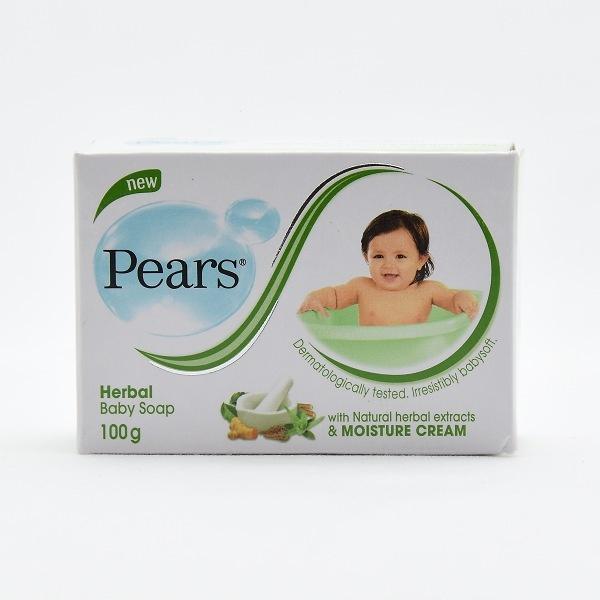 Pears Baby Soap Herbal 100G - in Sri Lanka