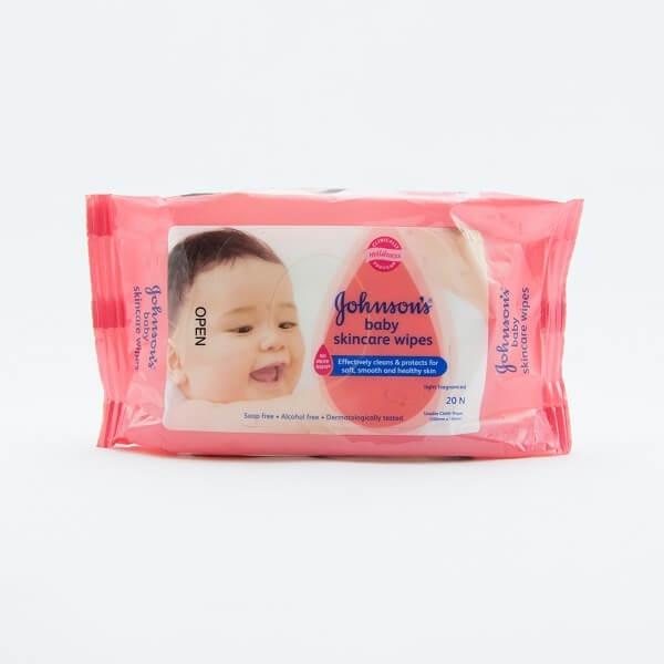 Johnson & Johnson Baby Wipes Skincare 20pcs - in Sri Lanka
