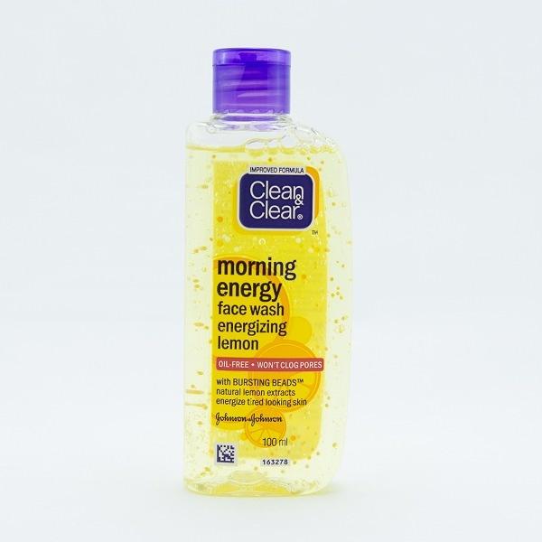 Clean & Clear Face Wash Morning Energy Lemon 100ml - in Sri Lanka
