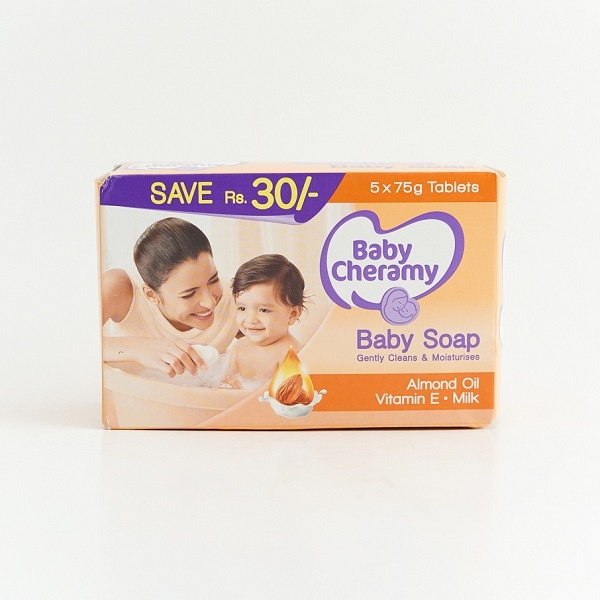 Baby Cheramy Soap Regular Eco 75gx5 - in Sri Lanka
