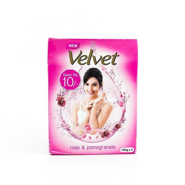 Velvet Soap Eco Pack Rose & Pomegranate - in Sri Lanka