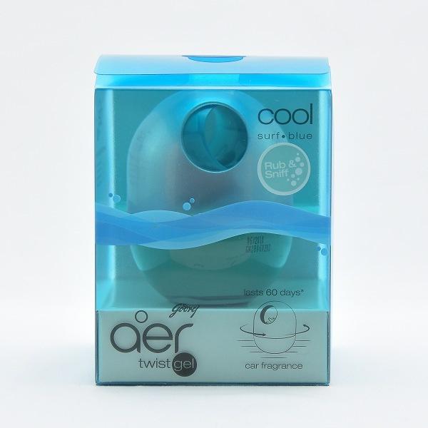 Godrej Aer Car Air Freshener Twist Blue 45g - in Sri Lanka