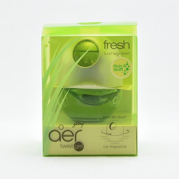 Godrej Aer Car Air Freshener Twist Green 45g - in Sri Lanka