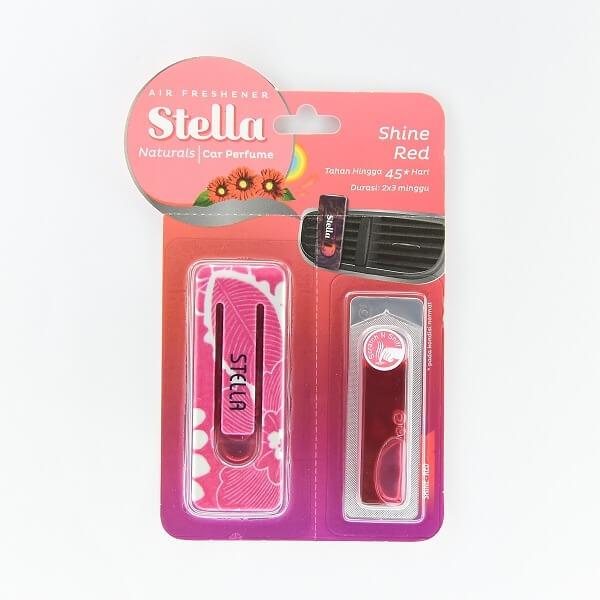 Stella Car Air Freshner Shine Red 8ml - in Sri Lanka