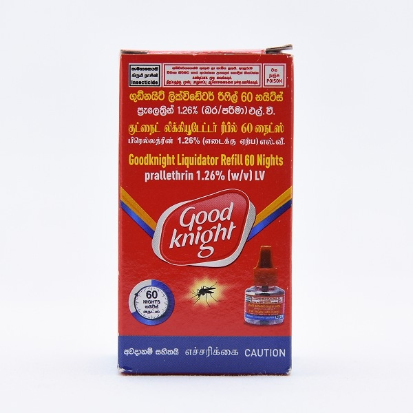 Good Knight Vapourizer Refill 60 Nights - in Sri Lanka