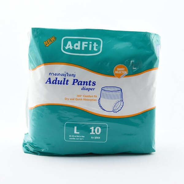 Adfit Adult Diaper Pants L 10S - in Sri Lanka