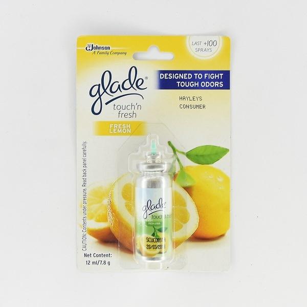 Glade Air Freshener Touch & Fresh Lemon Refill 12ml - in Sri Lanka