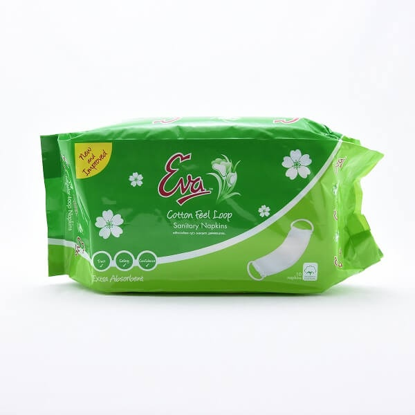 Eva Sanitary Napkins Loop Non Wings 10s - in Sri Lanka