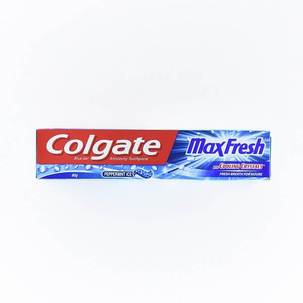 Colgate Tooth Paste Gel Max Fresh Blue 80g - in Sri Lanka