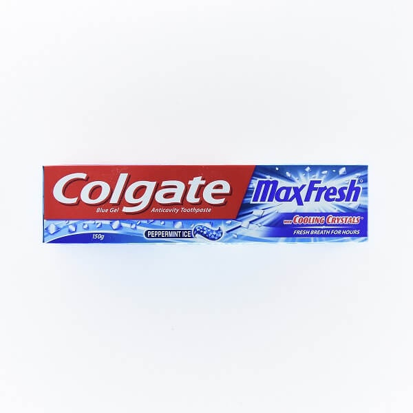 Colgate Tooth Paste Gel Max Fresh Blue 150g - in Sri Lanka
