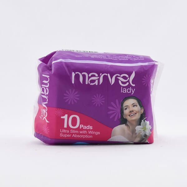 Marvel Lady Sanitary Napkins 10s - in Sri Lanka