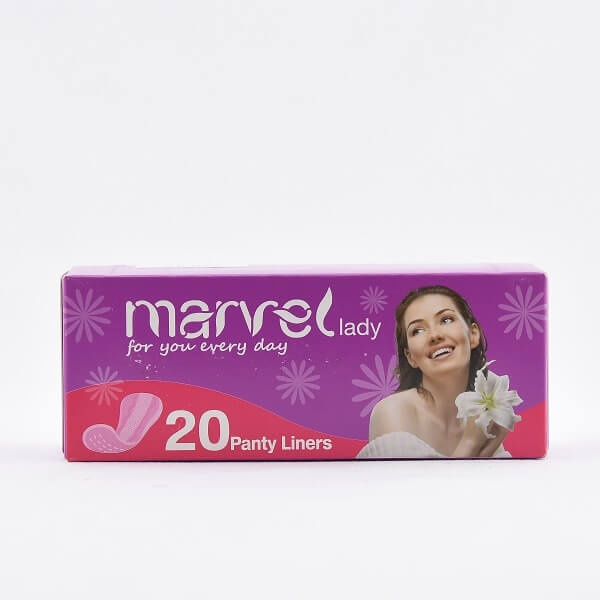 Marvel Lady Panty Liners 20S - in Sri Lanka