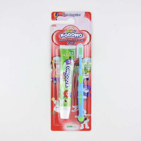 Kodomo Tooth Paste With Brush 45G - in Sri Lanka