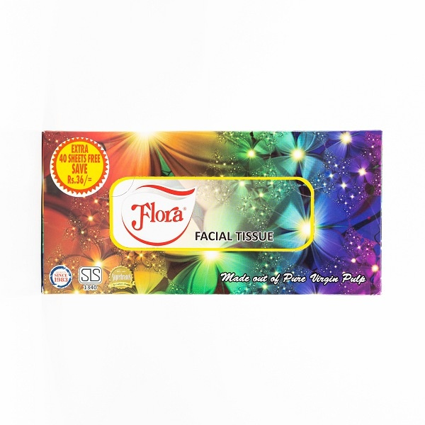 Flora Facial Tissues 200S 2 Ply - in Sri Lanka