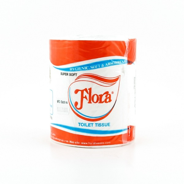 Flora Toilet Rolls Single - in Sri Lanka