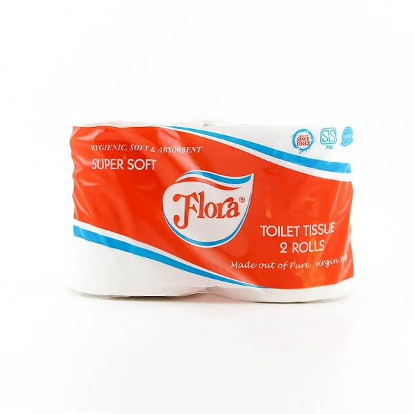 Flora Toilet Roll Twin Pack - in Sri Lanka