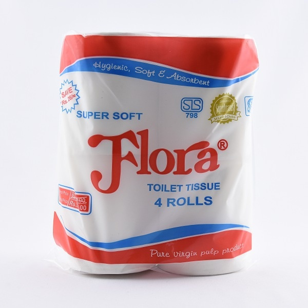 Flora Toilet Rolls 4S - in Sri Lanka