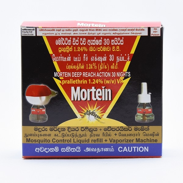Mortein Vaporizer Pack 30 Nights - in Sri Lanka