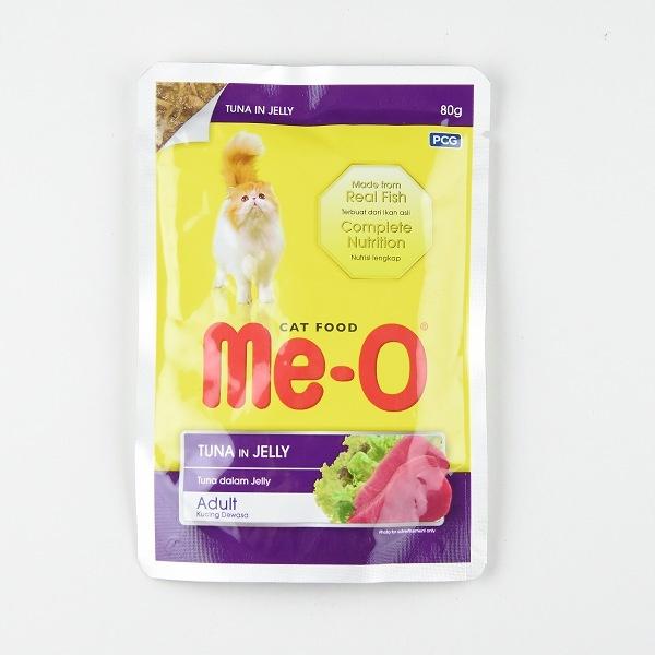 Me-O Tuna In Jelly Pouch 80G - in Sri Lanka
