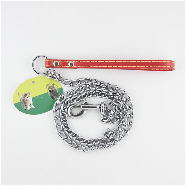 Seepet Dog Lead W Leather Handle(3.0mmx120cm) - in Sri Lanka