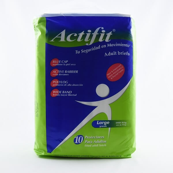 Actifit Adult Diaper Large 10S - in Sri Lanka
