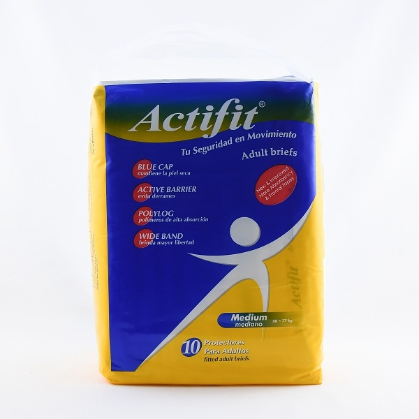 Actifit Adult Diaper Medium 10S - in Sri Lanka