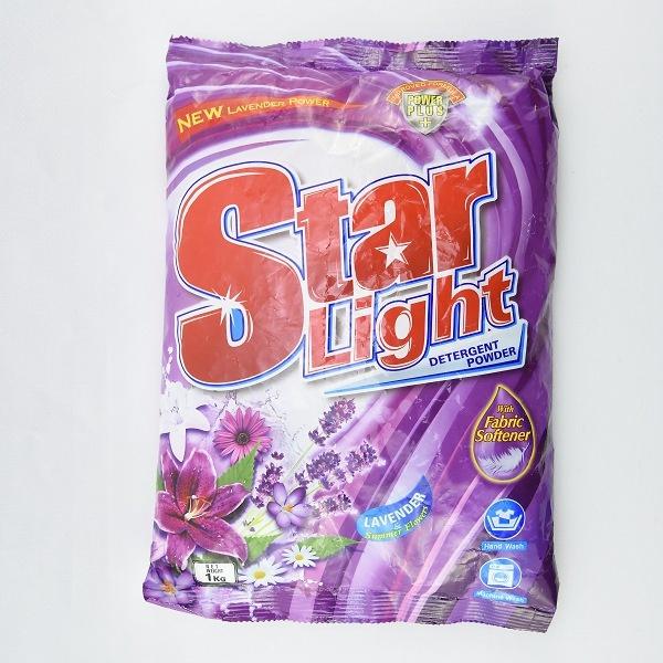 Starlight Detergent Powder _lavender 1kg - in Sri Lanka