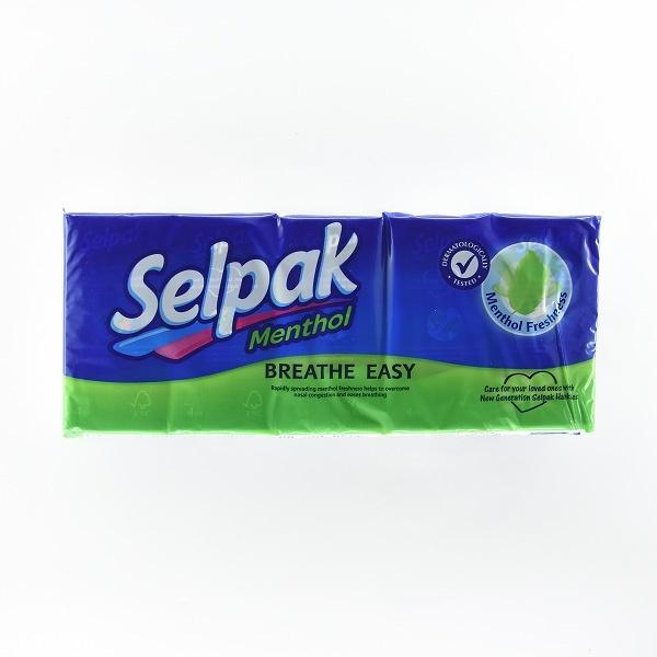 Selpak Handkerchief Tissuementhol 10s - in Sri Lanka