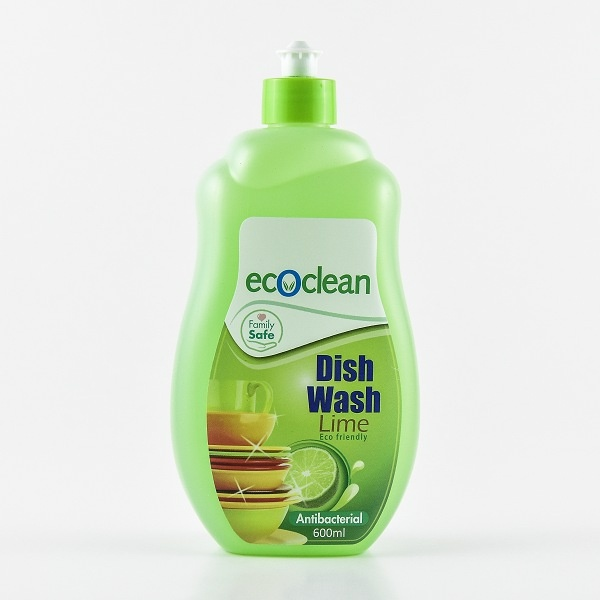 Eco Clean Dish Wash Plus Lime 600Ml - in Sri Lanka