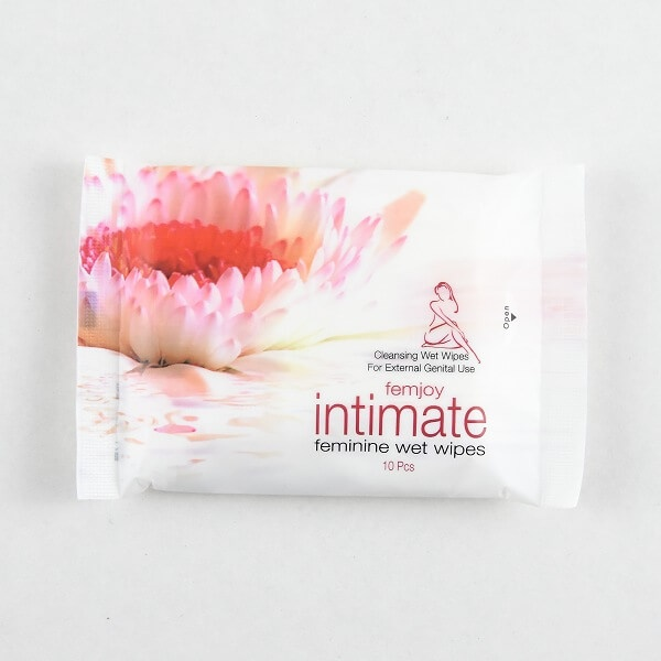 Splash Intimate Femin Wet Wipes 10s - in Sri Lanka