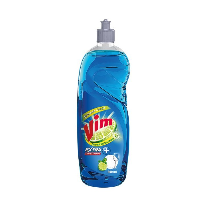Vim Dishwash Liquid Anti Bacterial 500ml - in Sri Lanka