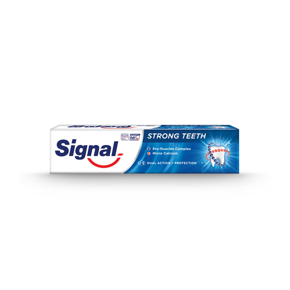 Signal Toothpaste Strong Teeth 160G - in Sri Lanka