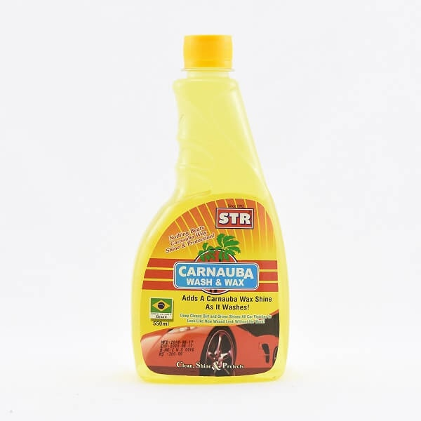 Str Carnauba Wash & Wax 550Ml - in Sri Lanka