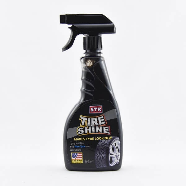 Str Tire Shine Spray Black 5ooml - in Sri Lanka