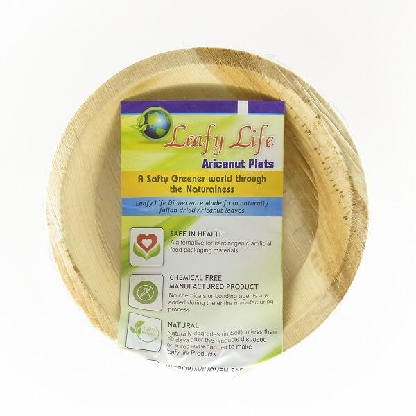 "Leafy Life Areca Curry Plate 6"" 6S - in Sri Lanka"
