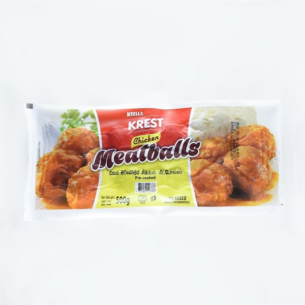 Keells Meat Balls Chicken 500G - in Sri Lanka