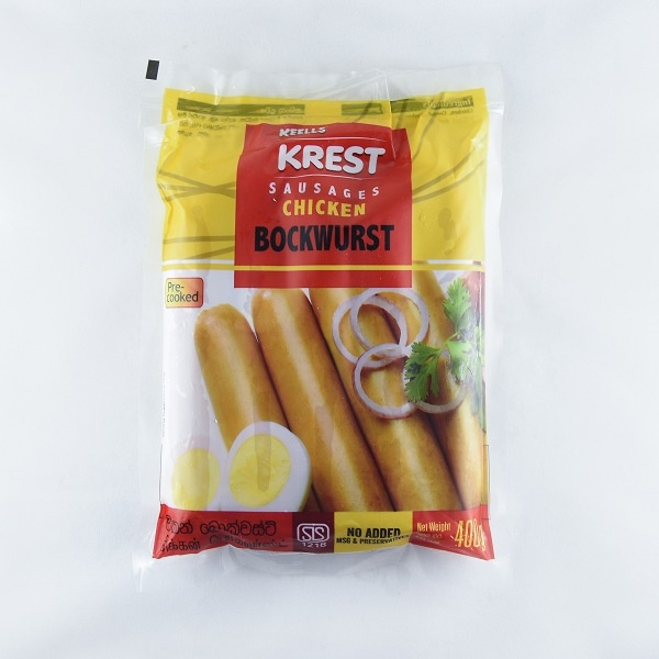 Keells/ Krest Chicken Bockwurst 400g - in Sri Lanka